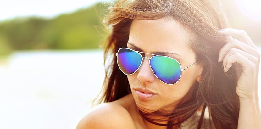 Sonnenbrille polarisiert