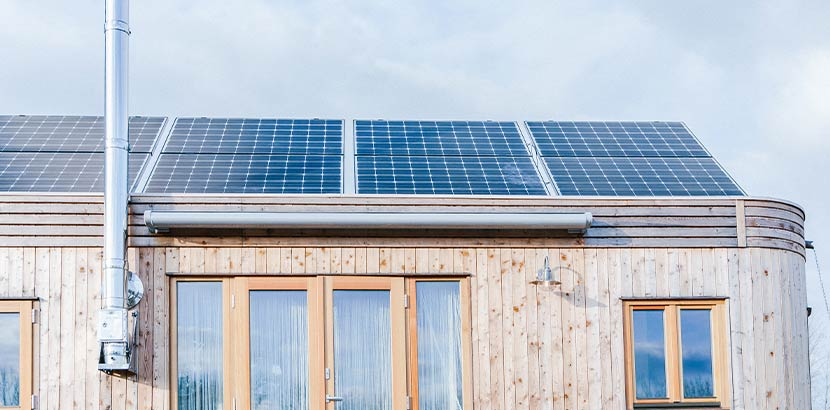 Tiny House mit Solaranlage um Kosten einzusparen von WW Wohnwagon.