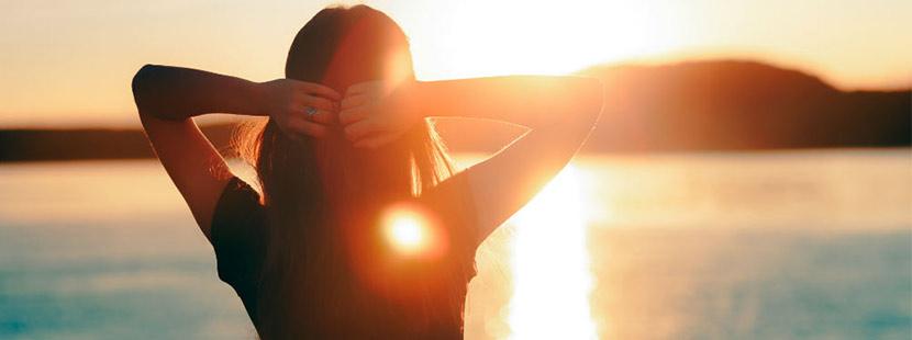 Vitamin D mit Hilfe der Sonne aufnehmen