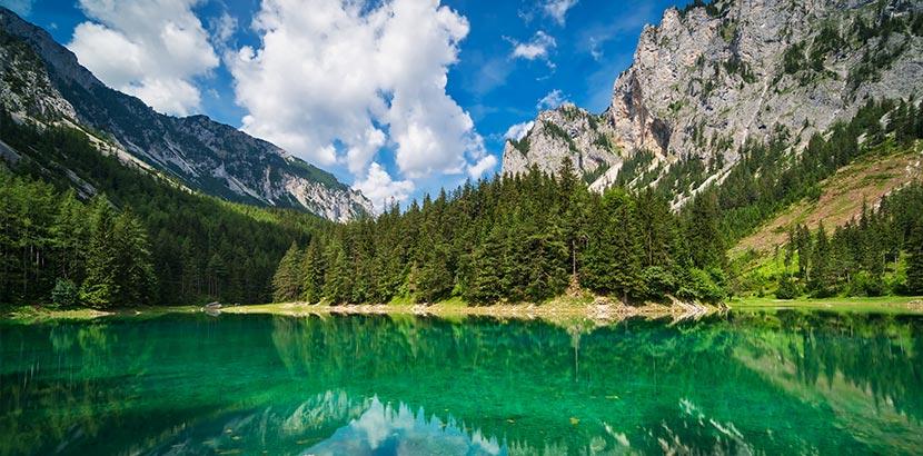 Ausflugsziele Steiermark - grüner See