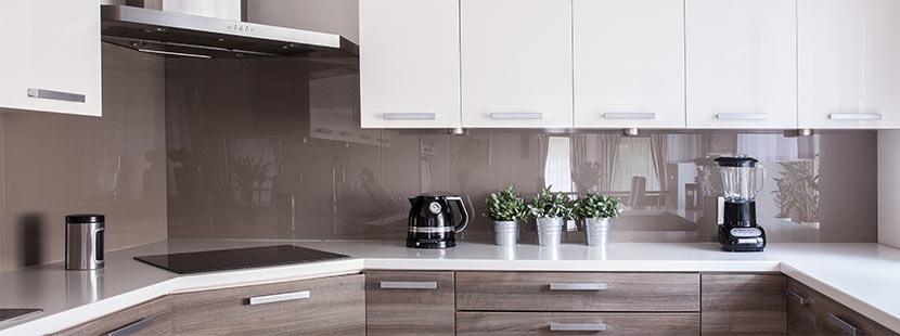 Küchenrückwand Glas  hitzebeständig & individuell gestaltbar - HEROLD