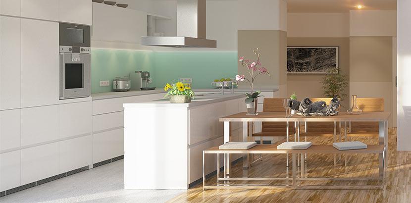Welches Glas für Küchenrückwand? - HEROLD.at