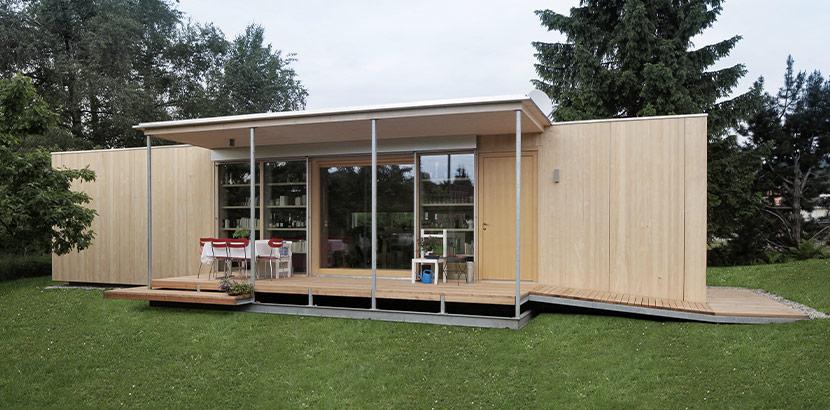 Tiny House aus Vorarlberg von der Tischlerei Kaufmann.