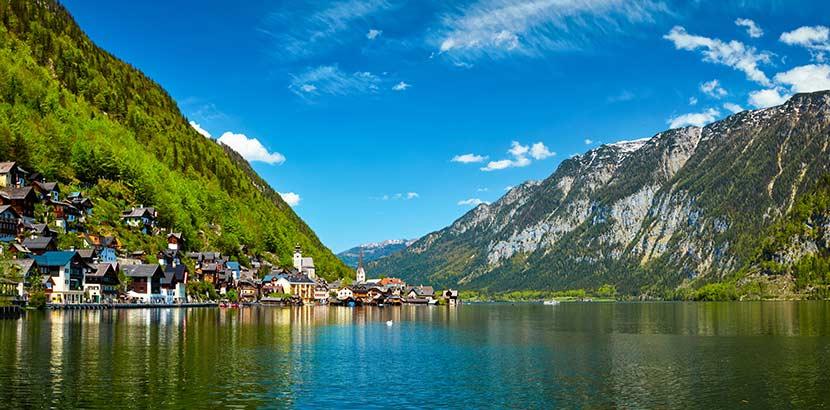 Urlaub in Österreich - Hallstatt