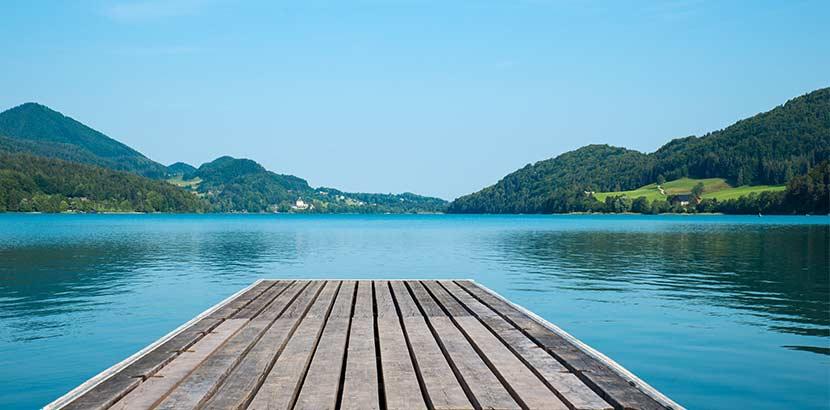 Urlaub in Österreich am Fuschlsee