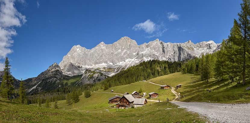 Urlaub in Österreich in den Bergen