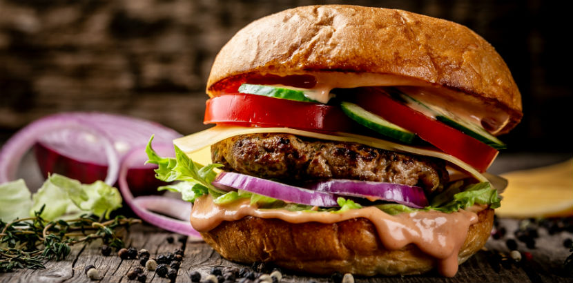 Burger Wien: Ein saftiger Burger.