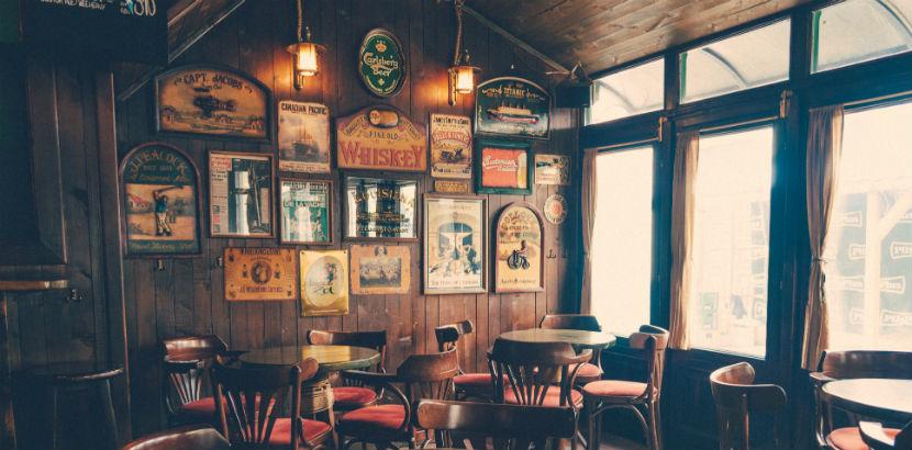 Irish Pub Wien: Barbereich.