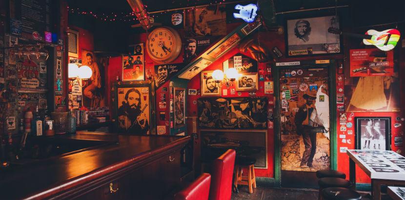 Irish Pub Wien: Das Interieur eines Irish Pubs.