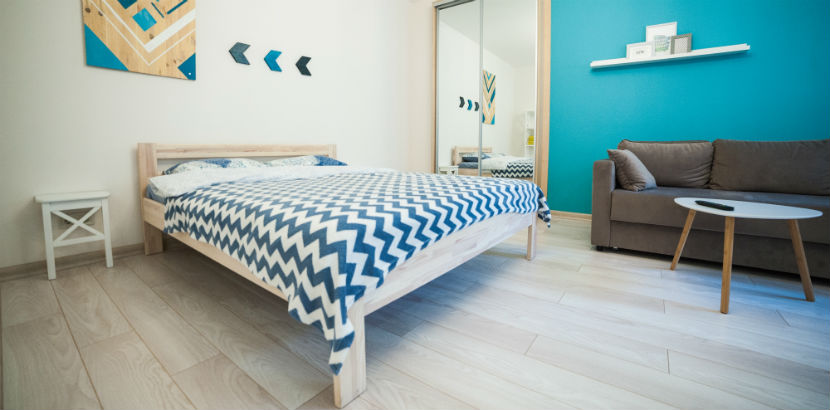 Wohnung vermieten Steuer: Eine saubere Unterkunft für Airbnb-Gäste.