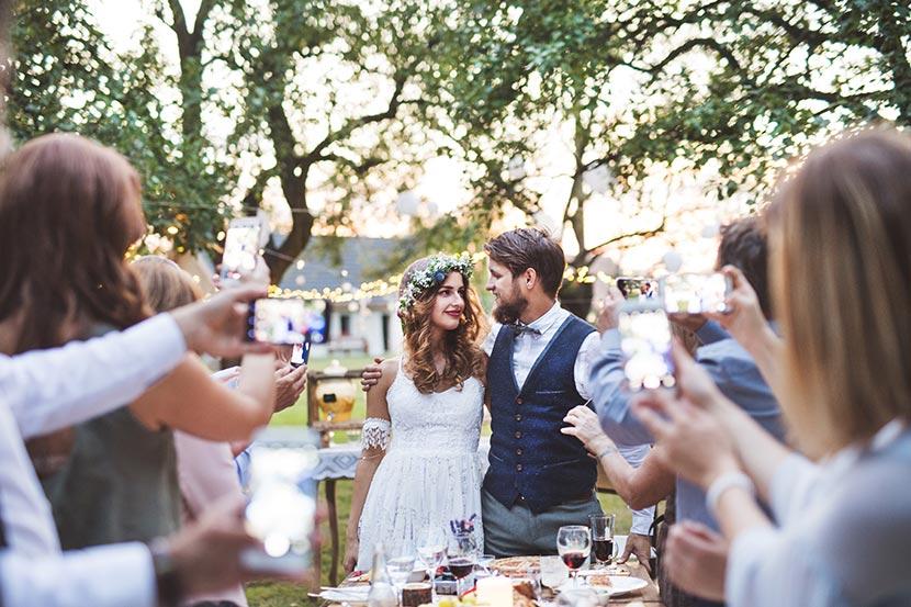 Gedanken von Hochzeitsgästen