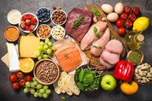 Vitamin-B-Mangel - ausgewogene Ernährung