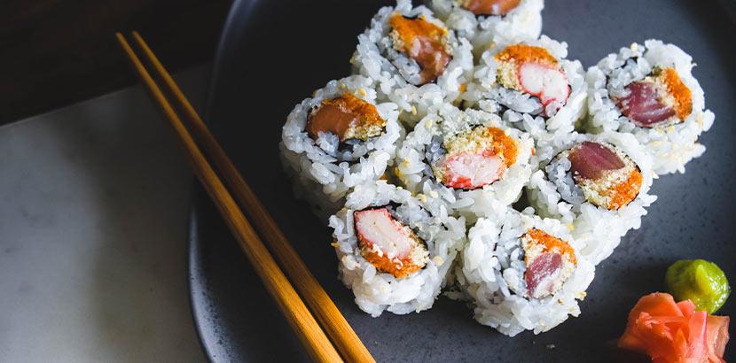 Sushi Linz: Sushi mit Reis und Fisch