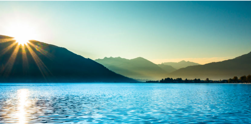 Hotels Zell am See: Sonnenaufgang in Zell am See