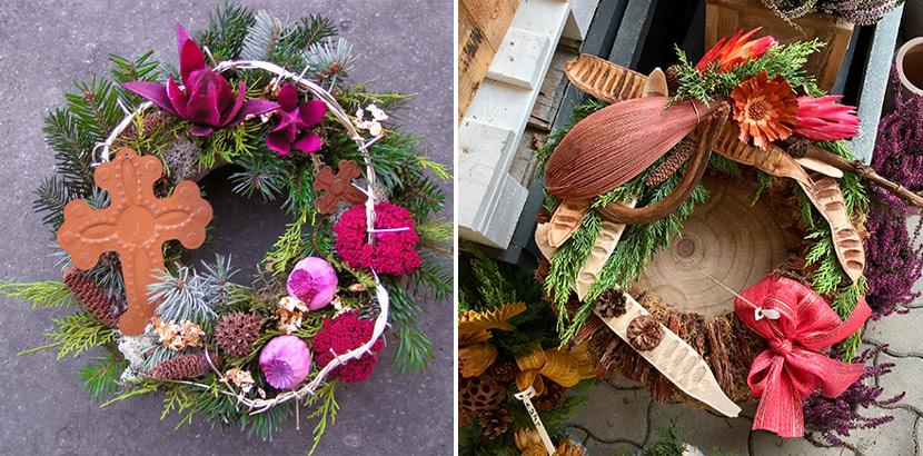 Allerheiligengesteck kaufen Wien: Gestecke, Kränze und Trauerfloristik aus der Floral Garage Griessmaier in Wien Donaustadt