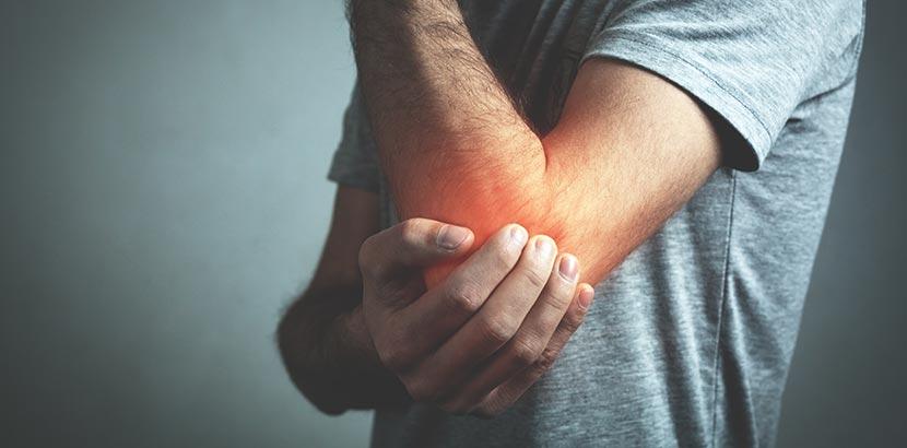 Arthritis Schmerzen am Ellbogen
