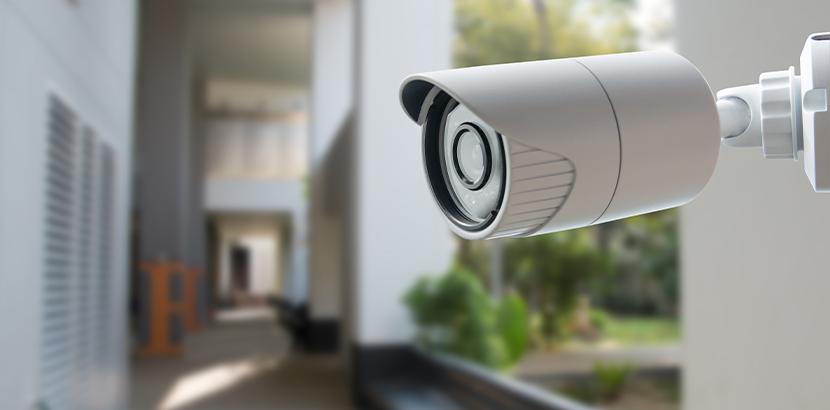 Bulletkamera zur Videoüberwachung