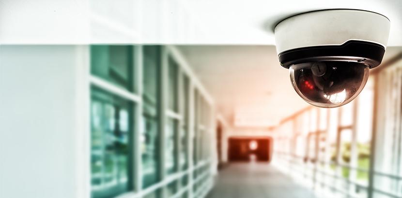 Domekamera zur Videoüberwachung