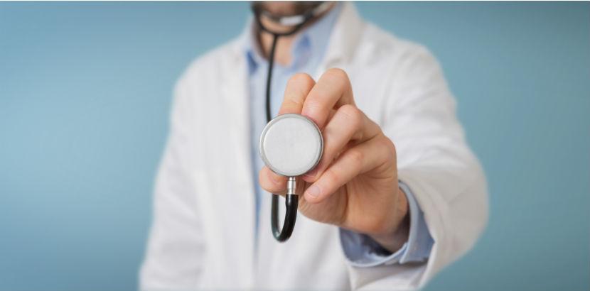 Gesundenuntersuchung: Ein Arzt