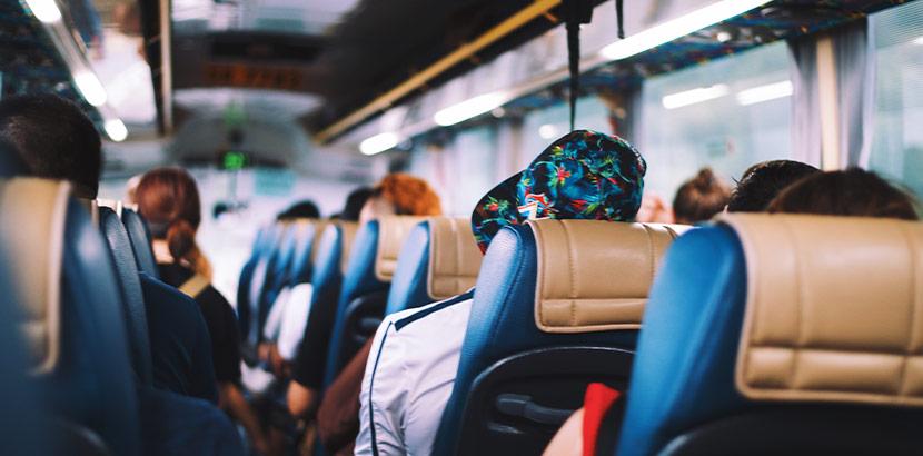 Busreise Sitzplätze