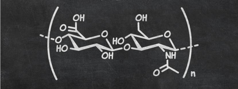 Hyaluronsäure Strukturformel