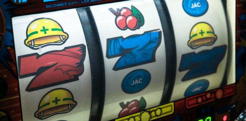 Spielsucht: Anzeige eines Spielautomatens