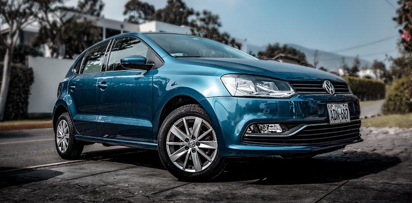 Blauer VW Volkswagen