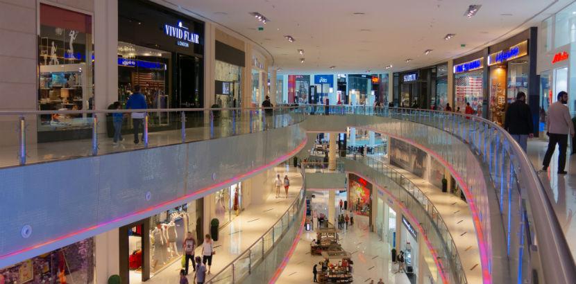 Kaufsucht: ein Einkaufszentrum