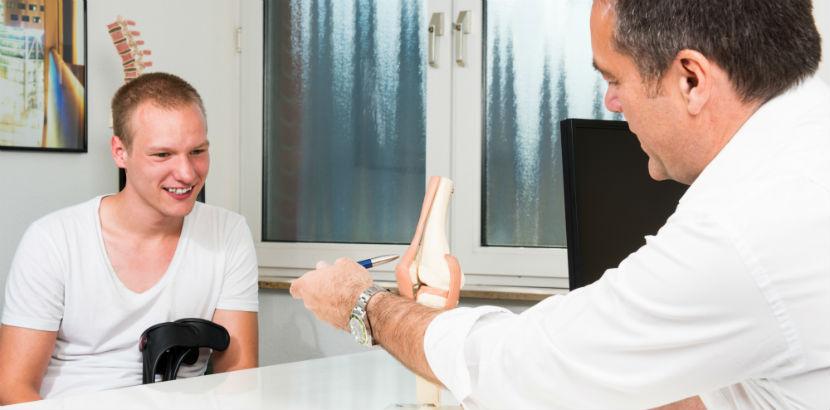 Orthopäde Wiener Neustadt: ein Patientengespräch