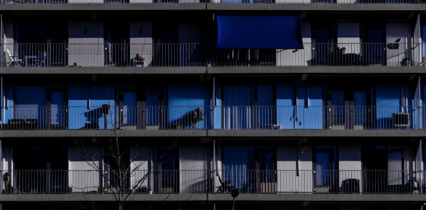 Wohnungssuche Wien: ein Wohngebäude