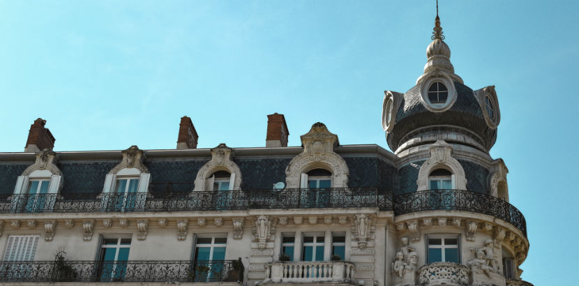 Wohnungssuche: ein historisches Zinshaus