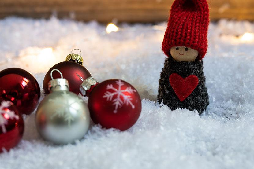 erholsame Weihnachten ohne Stress