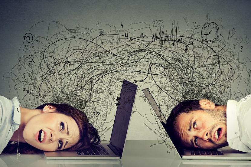 Suchmaschine findet Webseite nicht: Zwei Unternehmer brauchen dringend Marketing-Hilfe.