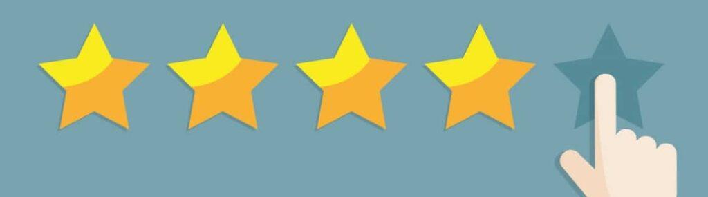Vier oder fünf Sterne? Wir verraten, warum Kundenbewertungen für KMUs so wichtig sind.