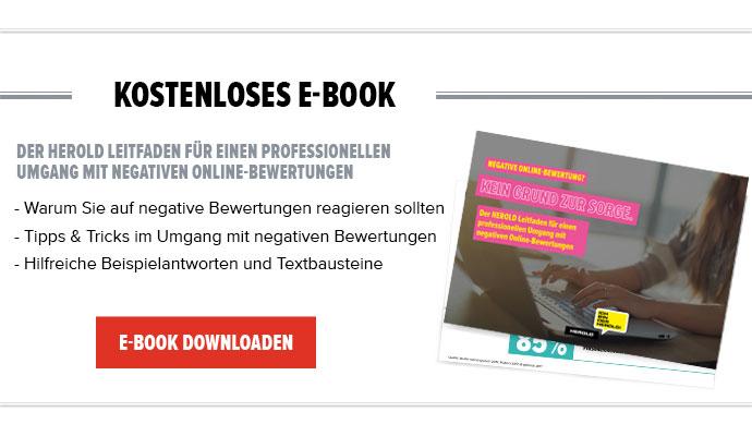 Umgang mit negativen Bewertung - eBook