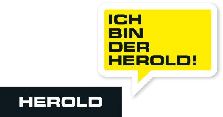 © Herold Business Data GmbH - Logo HEROLD (mit Sprechblase)