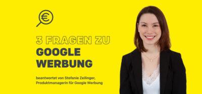 HEROLD Produktmanagerin Stefanie Zeilinger für Google Produkte