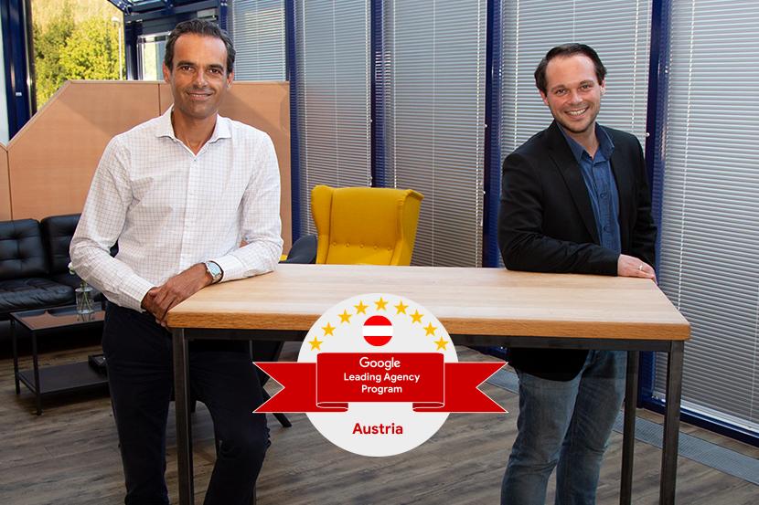 Alberto Sanz, Geschäftsführer/CEO von HEROLD und Nico Binder, Head of Key Account Management