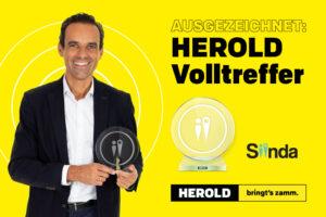 """Online-Portal """"HEROLD Volltreffer"""" mit Silber-Award prämiert"""