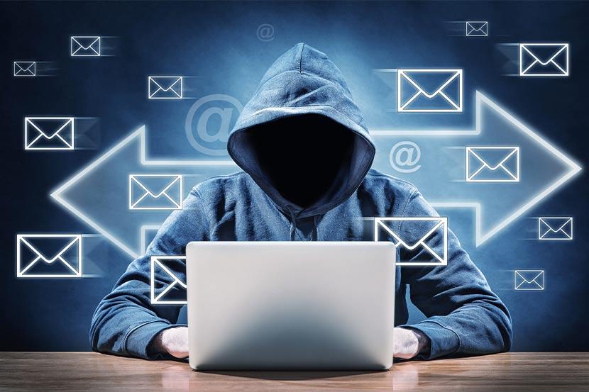 Unbekannter versendet Spam Mails