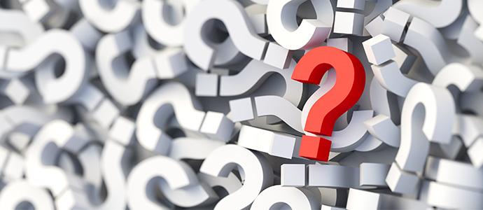 Ein Abschnitt mit häufigen Fragen hilft Besuchern dabei Informationen schnell zu finden.