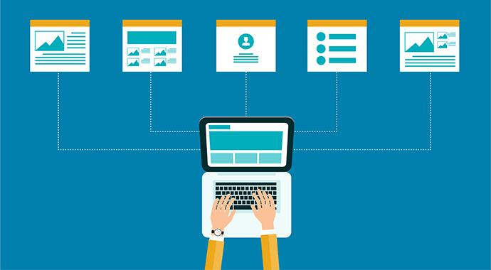 Nutzer fällt die Navigation zu gesuchten Informationen dank logischen Kategorien und Keywords leicht.