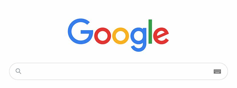 Eingabefeld für Google Suche im Web-Browser