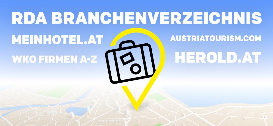 Branchenverzeichnis Tourismus