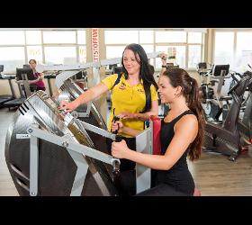Chipkartengesteuertes Training Tschann Lady Fitnessstudio Fitnesscenter Fitness-Studio