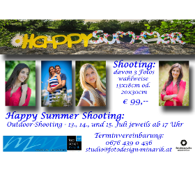 HAPPY SUMMER SHOOTING