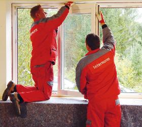 Sanierung Internorm Fenster