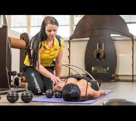 Ballance Dr.Tanja Kühne Faszientraining Fitnesscenter Tschann Fitnessstudio Fitness-Studio