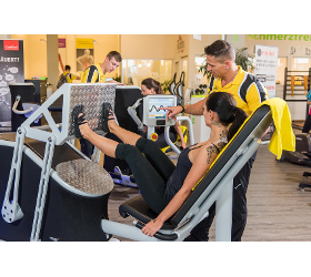 Chipkartengesteuertes Training Fitnesscenter Tschann Fitnessstudio Fitness-Studio