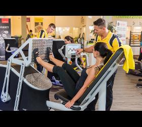 Chipkartengesteuertes Training Fitnesscenter Tschann Fitnessstudio Fitness-Studio